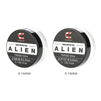 Coilology Pre Built Twisted Messes Alien [Ni80 0.13ohm]