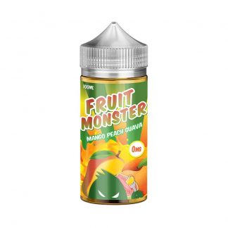 Mango, Peach & Guava E-Liquid by Fruit Monster