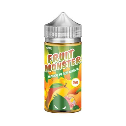 Mango, Peach & Guava E-Liquid by Fruit Monster