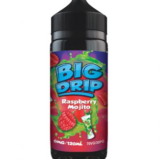 Big Drip by Doozy Vape - 100ml - Raspberry Mojito