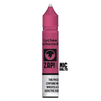 ZAP! Juice - Nic Salt - Lychee Lemonade [20mg]
