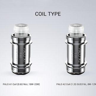 Vaptio Palo Coils - 5 Pack [1.2ohm, A2]