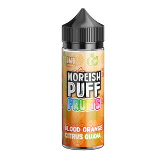 Moreish Puff Fruits - 100ml - Blood Orange Citrus Guava