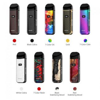 Smok Nord 2 Pod Kit [Stabilized Wood Red]