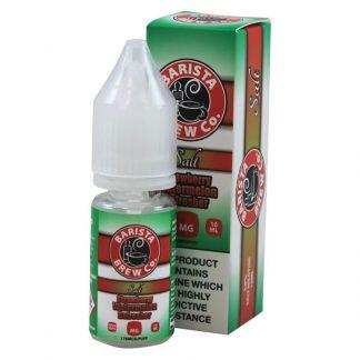 Barista Brew Co - Nic Salt - Strawberry Watermelon Refresher [10mg]