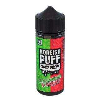 Moreish Puff - 100ml - Candy Drops Watermelon & Cherry