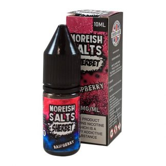 Moreish Puff - Nic Salt - Strawberry Laces Sherbet [10mg]